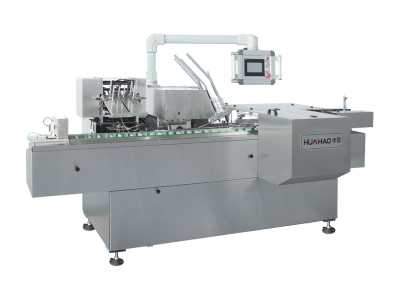 Bottle cartoning machine